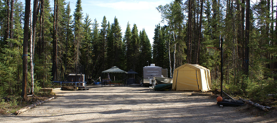 Big Water Campgrounds lots give you enough room to feel very comfortable.