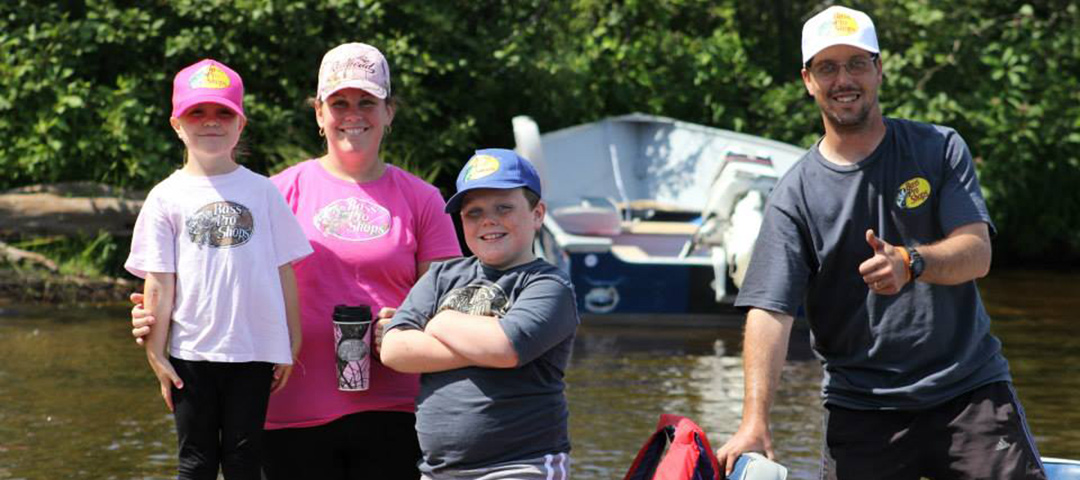 Take a kid fishing big water campgrounds for Take a kid fishing