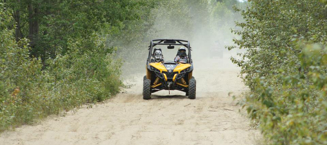 ATV trails surround Big Water Campgrounds.